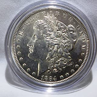 1884 o morgan silver dollar uncirculated