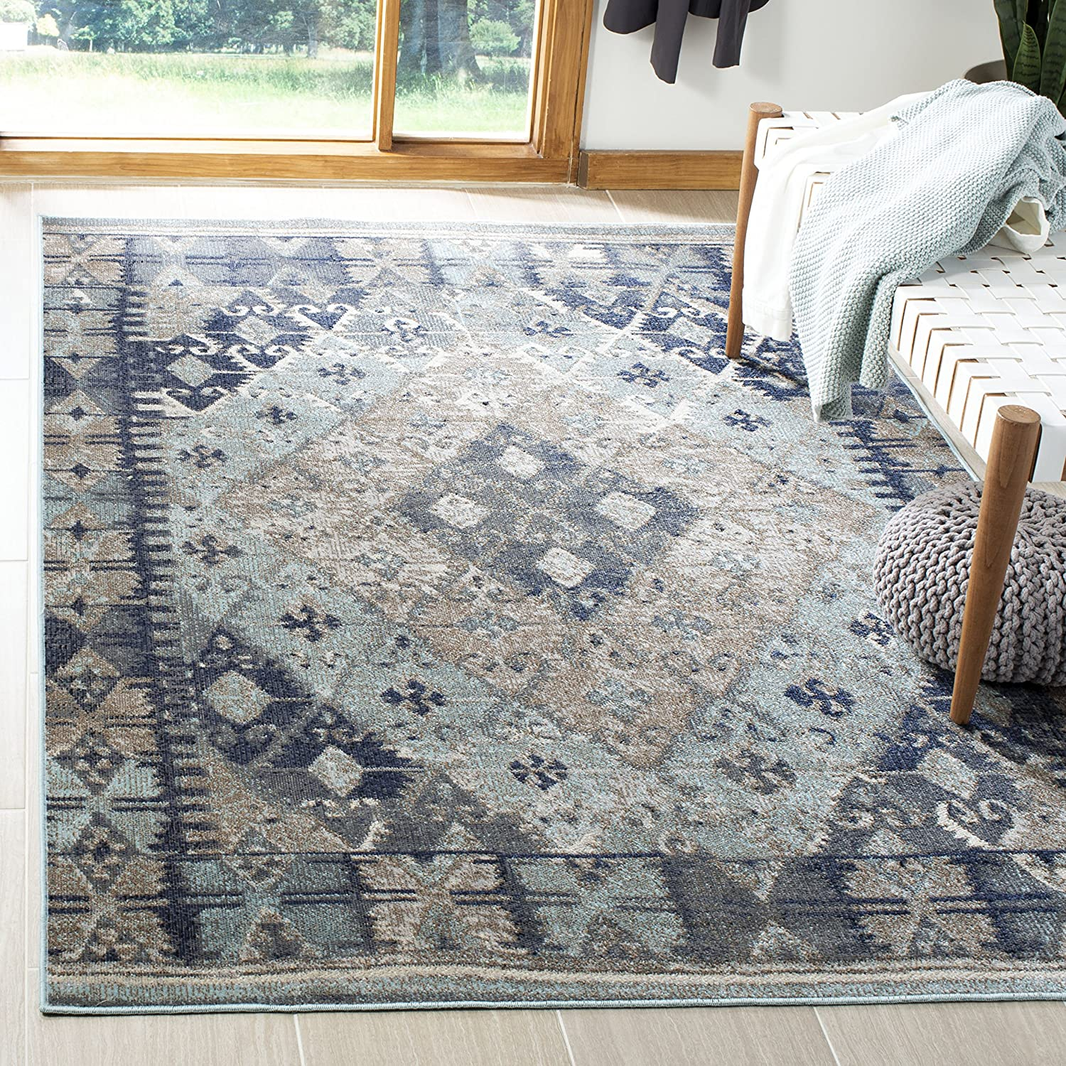 Safavieh famous Montage Collection MTG236K Indoor Boho Outdoor Non-She online shopping