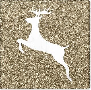 Best glitter reindeer canvas Reviews