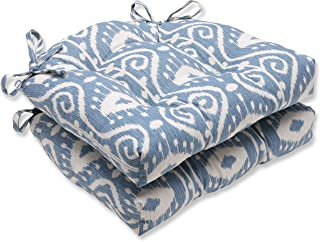 Pillow Perfect Empire Yacht Reversible Chair Pad, Set of 2