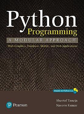 Python Programming: A Modular Approach