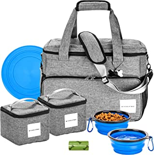 Best travel dog bowls with lids Reviews