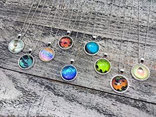 Real Butterfly Wing Jewelry Friendship necklaces for 2 3 4 5 6 Best friend gifts for women birthday Genuine insect taxidermy