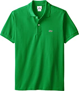 635426a52ae544 Lacoste Men s Short Sleeve Pique L.12.12 Classic Fit Polo Shirt
