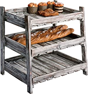 Best bakery display racks wood Reviews