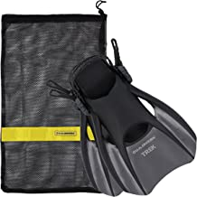 US Divers Trek Travel Fin With Mesh Carrying Bag
