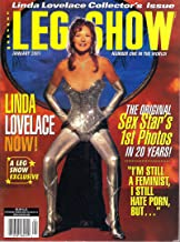 Leg Show January 2001 Linda Lovelace Collector's Edition