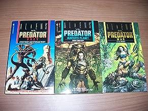 Aliens Vs. Predator Box Set of Three - Prey, Hunter's Planet and War