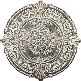 Regal Art & Gift 11770 Antique White Medallion 38