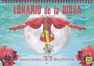 Lunario de La Diosa. Calendario menstrual 2020: 29 x 20 cm