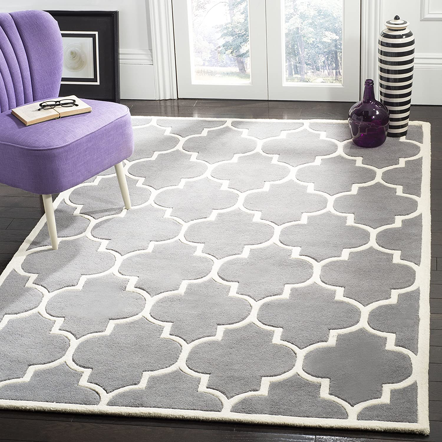 Safavieh Chatham Collection CHT733D Geometric Premium Handmade Rapid rise Now free shipping W