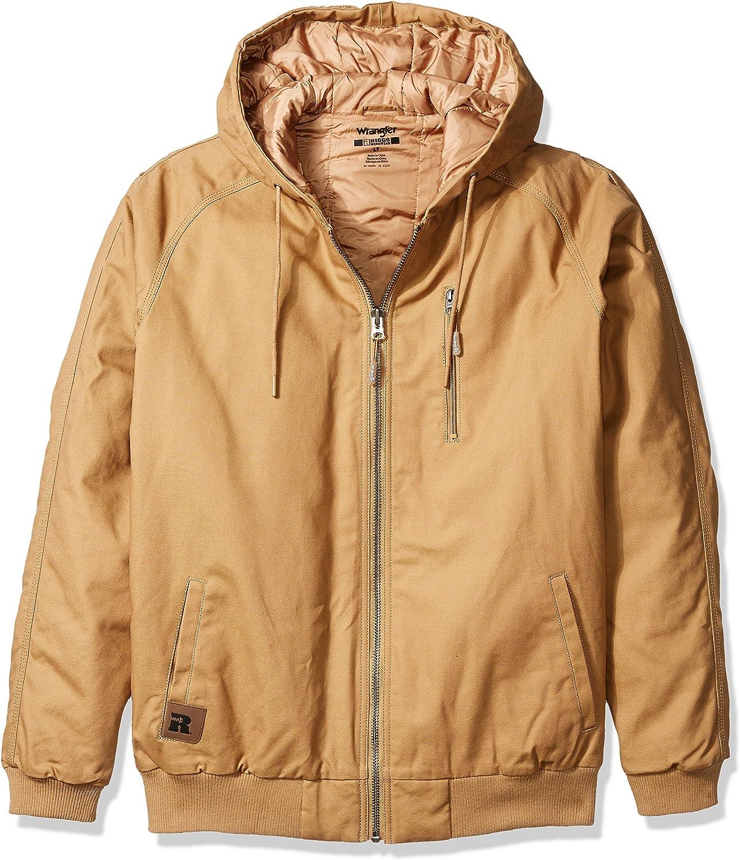 Wrangler Riggs Workwear Men's Utility Hooded Jacket