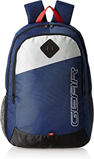 Gear 14 cms Blue Casual Backpack (MDBKPECO50504)