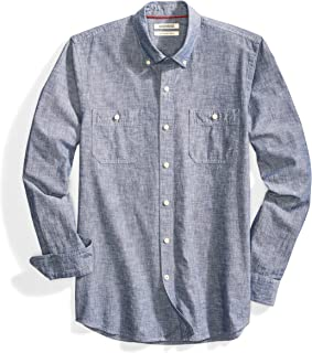 chambray henley