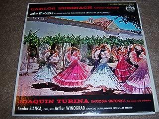 Carlos Surinach Second Symphony Joaquin Turina Rapsodia Sinfonica Arthur Winograd E3510