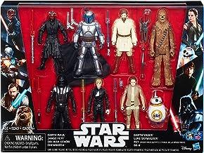 Star Wars Saga Action Figure 8 Pack with Darth Maul