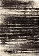 "product image for Orian Interference Area Rug, 3'11"" x 5'5"", Black"