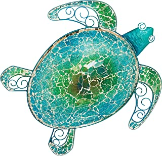 "Regal Art & Gift 20272 Mosaic Sea Turtle Wall Decor 18"" Garden Décor, Multi"
