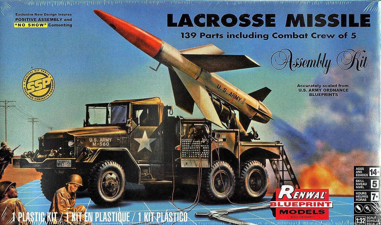 前述の小麦はげアメリカレベル 1/32 SSP ラクロス ミサイル&トラック プラモデル