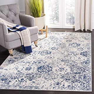 Best royal blue and white area rugs Reviews