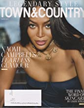 Town & Country Magazine (March, 2017) Naomi Campbell Cover