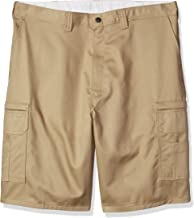 Dickies Occupational Workwear LR337DS Cotton Relaxed Fit Men's Industrial Cargo Short with Metal Tack Closure, Desert Sand