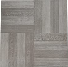 "Achim Home Furnishings FTVWD23120 Nexus Self Adhesive 20 Vinyl Floor Tiles, 12"" x 12"", Ash Grey Wood, Count"