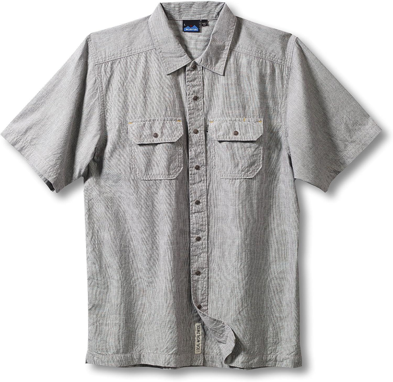 KAVU Men's SALENEW Online limited product very popular Shirt Weston