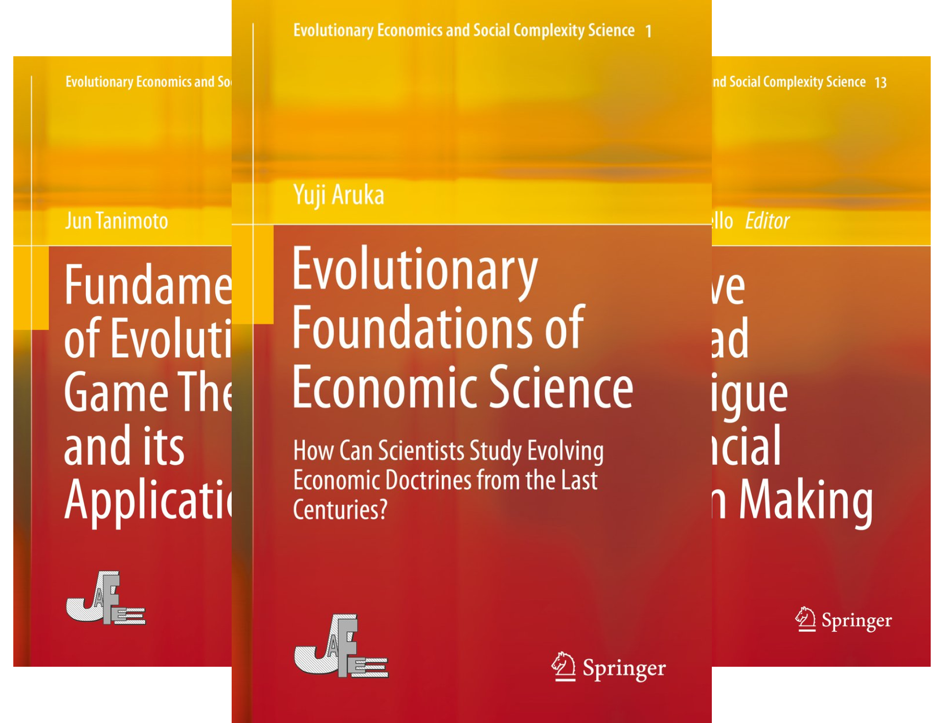 Evolutionary Economics and Social Complexity Science (26 Book Series)