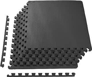 BalanceFrom Puzzle Exercise Mat High Quality EVA Foam Interlocking Tiles