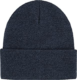 Blueberry Uniforms Merino Wool Beanie Hat -Soft Winter Activewear Watch Cap