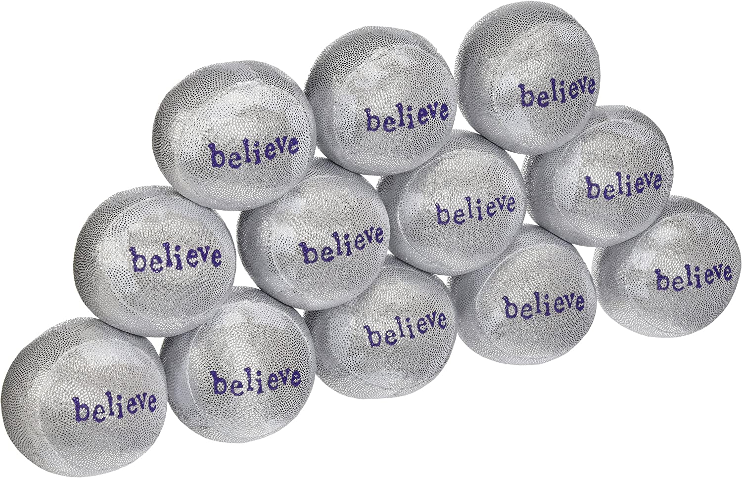 Lavender Luvies Stress Balls Silver - Believe Credence Pack Sale special price 12