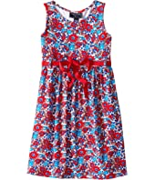 Oscar de la Renta Childrenswear - Blossom Vignette Jersey Sundress (Toddler/Little Kids/Big Kids)