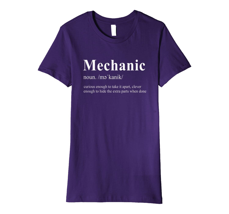 Mechanic Funny Gift – Curious Enough To Take It Apart Premium T-Shirt