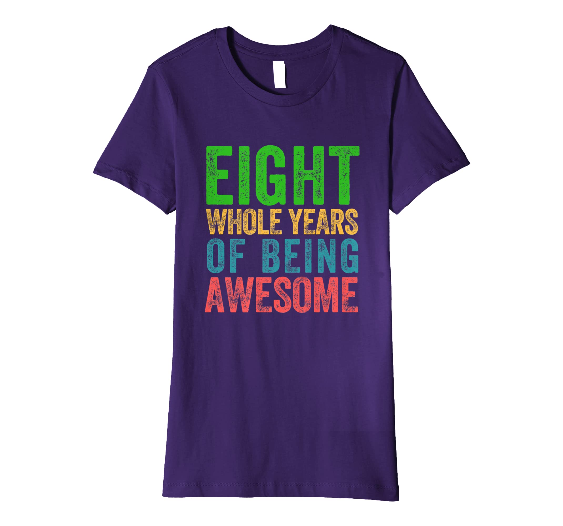 Amazon Eighth Birthday Shirt Boys Girls 8th Party Eight Clothing