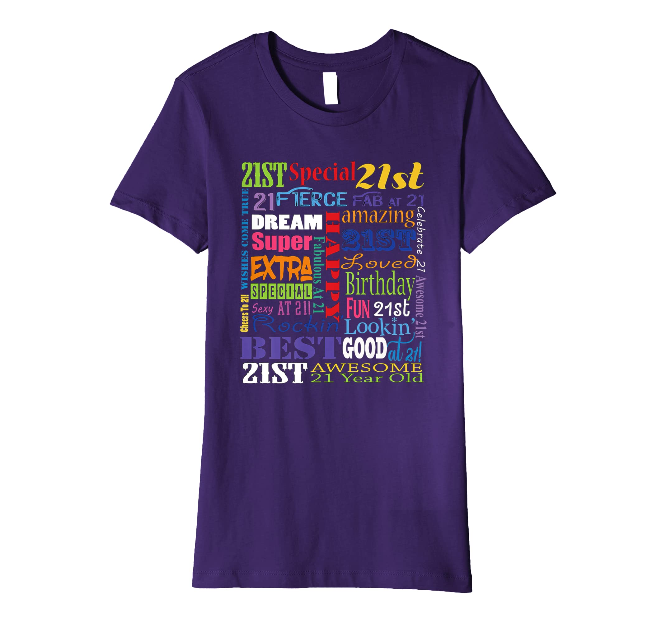 Amazon 21st Birthday Party T Shirts