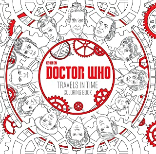 Doctor Who Travels in Time Coloring Book