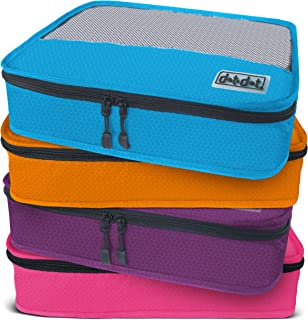Medium Packing Cubes for Travel - 4 Piece Luggage Accessories Organizers