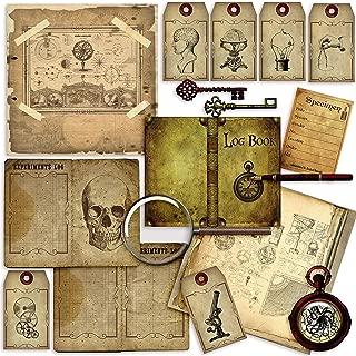 Steampunk Scientist Journal DIY - EZ Journal 7014
