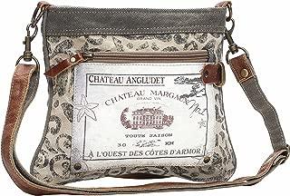 Myra Bag Chateau Cross Upcycled Canvas Bag S-1148