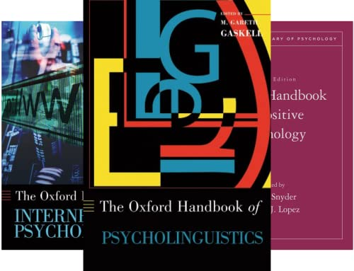 OXFORD LIBRARY OF PSYCHOLOGY (50 Book Series)