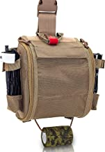 Elite Bags - QUICKAID´S, Botiquín Paramédico Pernera con Sistema Molle (Marron Coyote)