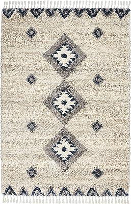 Marque Amazon - Movian Ogosta Tapis rectangulaire, 236,2x160cm (longueurxlargeur), Motif formes géométriques