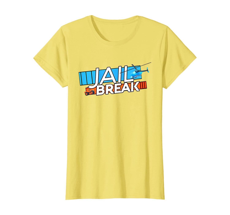 I Love Pizza Shirt Roblox Amazon Com Jailbreak Getaway T Shirt Clothing