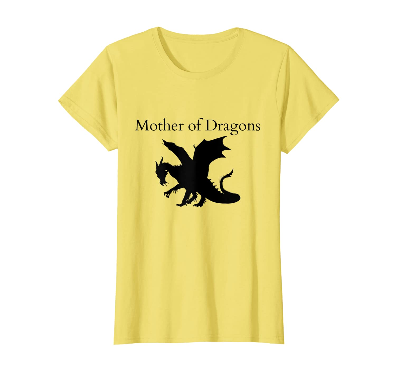 Womens MOTHER of Dragons t-shirt, Funny game gift, Mother's day tee-TH