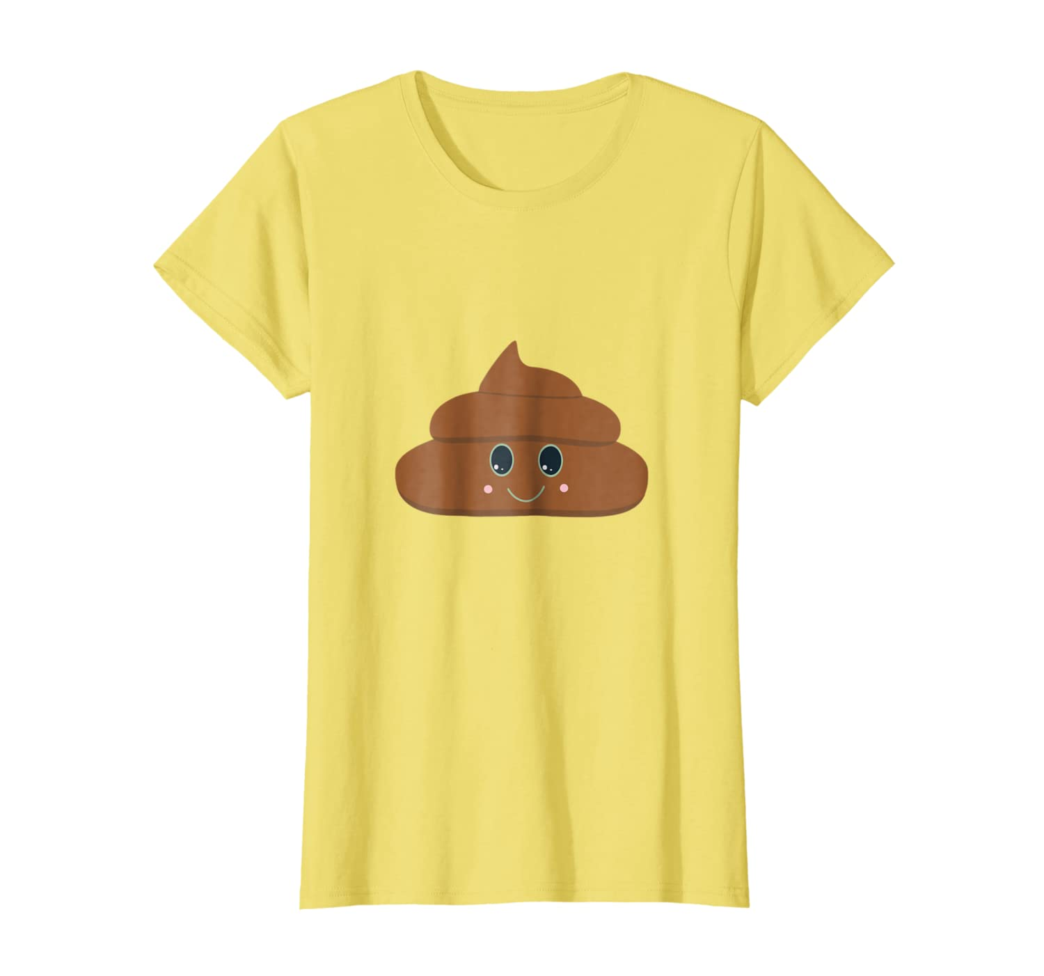 Amazon.com: Happy Poo - Camiseta de excrementos y poo: Clothing