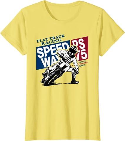 Love Motocross Dirt Bike Motorcycle Flat Track Racing Gift Camiseta