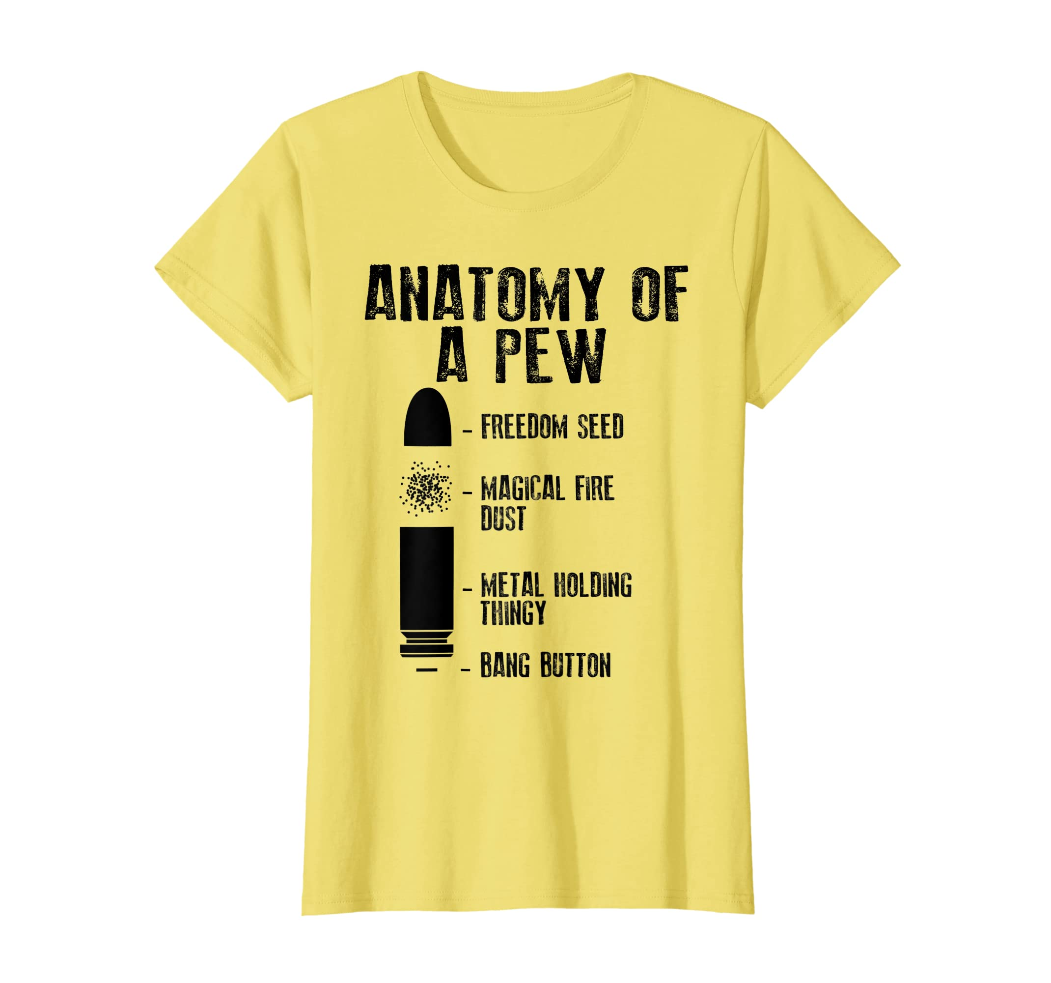 Amazon Anatomy Of A Pew Shirt Funny Weapon Gun Bullet Proof