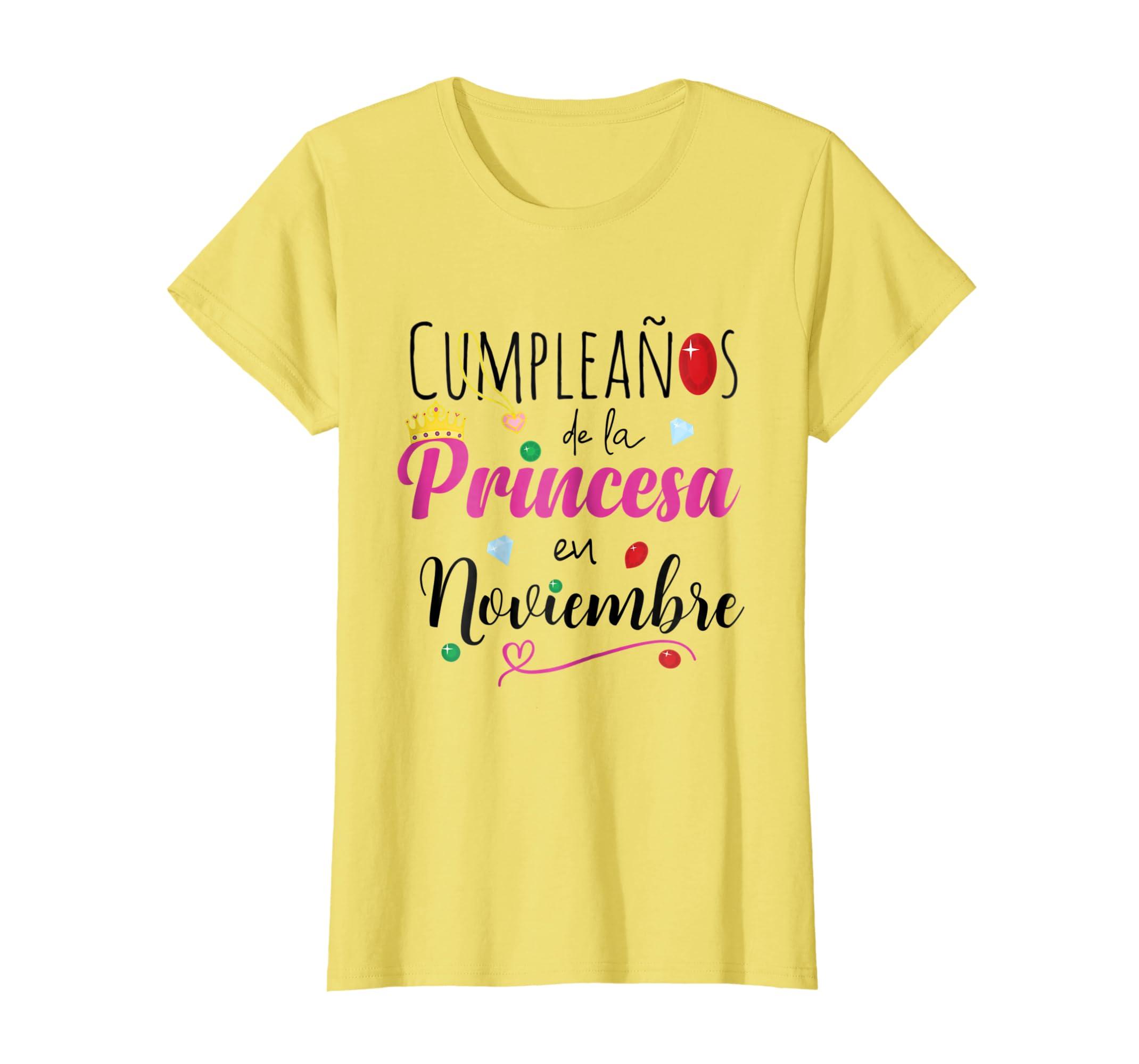 Amazon.com: Cumpleanos Princesa Noviembre Camiseta Birthday ...