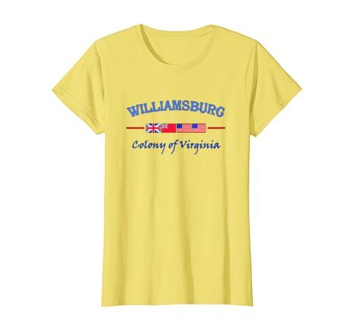 Awesome Williamsburg Virginia Colony T-Shirt T-Shirt Sweatshirt Hoodie